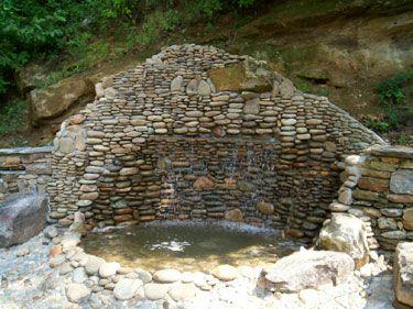 River Rock Wall Fountain Solutions In Atlanta Ga Riverrock