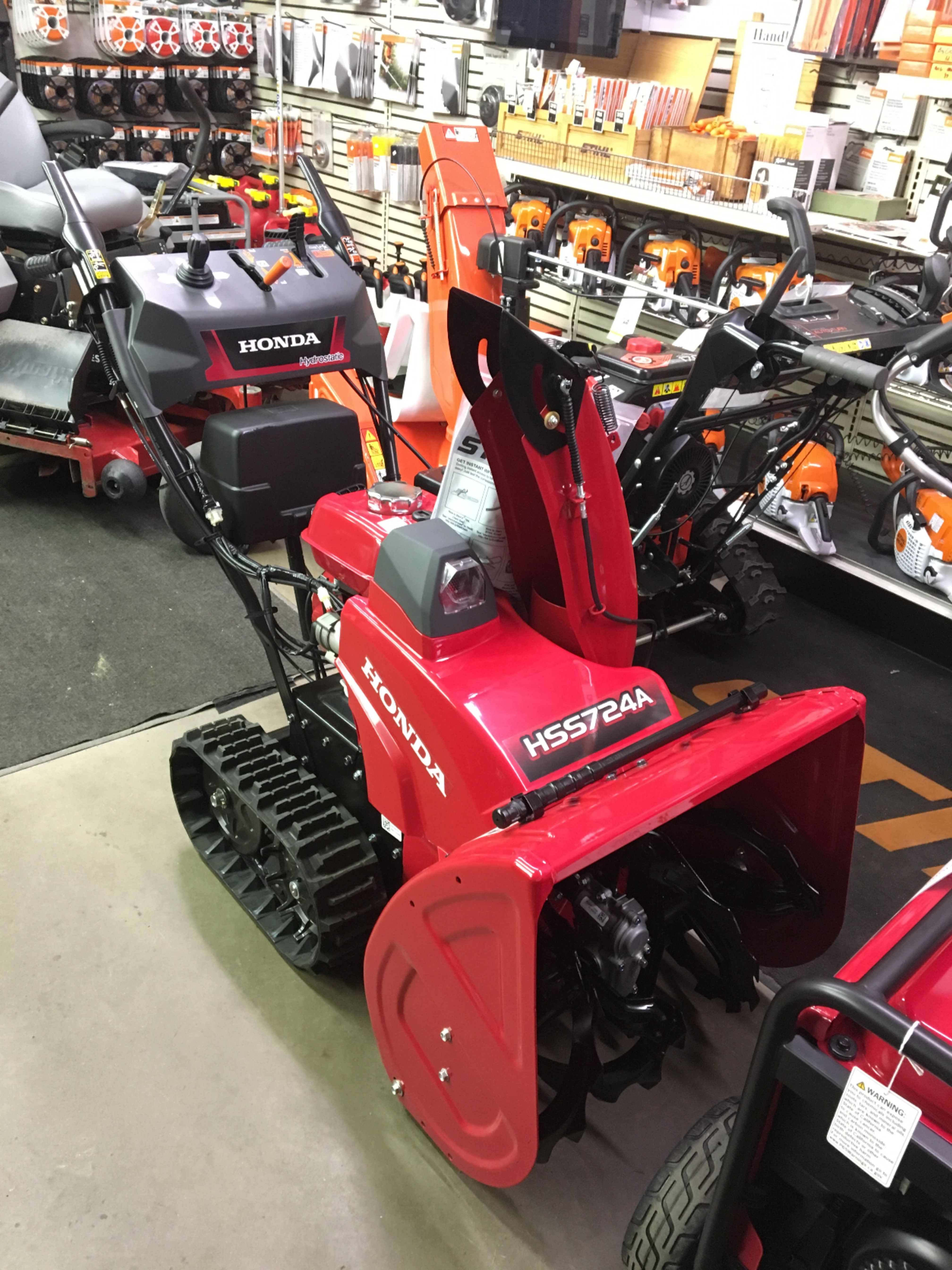 Being prepared for the snow always gives peace of mind and no worries. Buy a Honda Snowblower HSS724A track with electric start and be ready to conquer any snow storm! Call: 570-739-2772 Address: 2 Kiehners Road, Schuylkill Haven, PA 17922 #SnowBlower #MovingSnow #Snow #Storms #SnowRemoval #BlowingSnow #Honda #NeedASnowBlower #NoShoveling #Backup #Peace #HSS724 #Track #TrackSnowBlower #Kramers #KramersPowerEquipment #PowerEquipment #HondaSnowBlower #KramersPower
