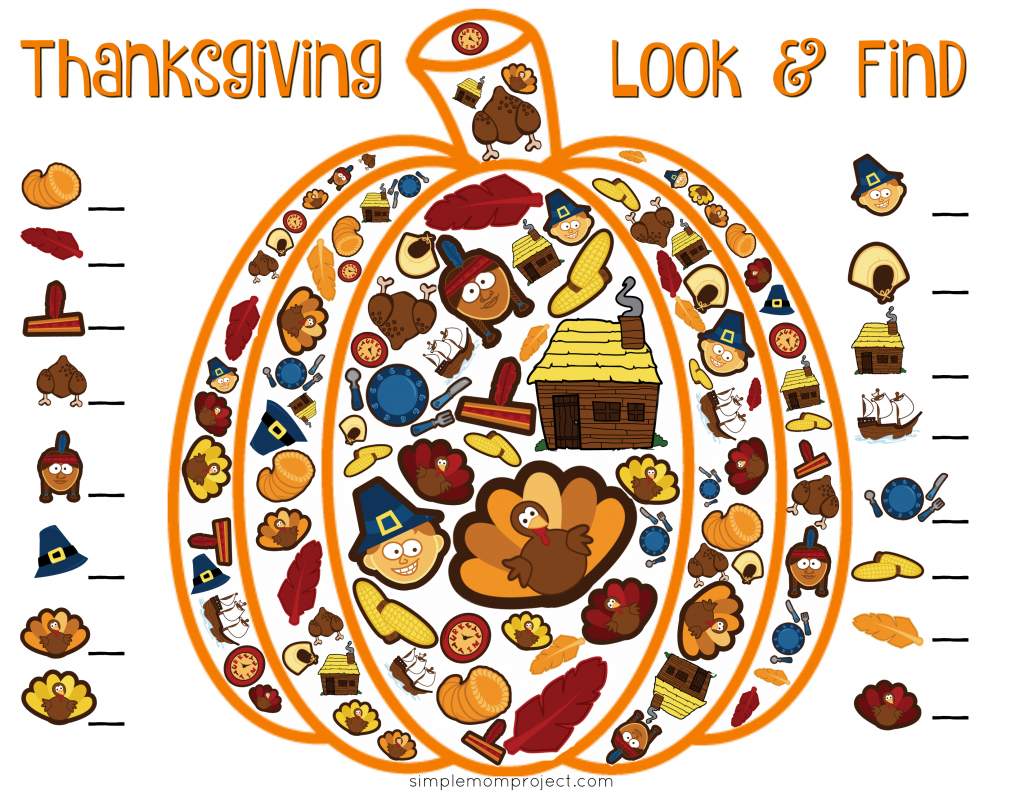 Have Fun This Fall With 15 Free Thanksgiving Printable