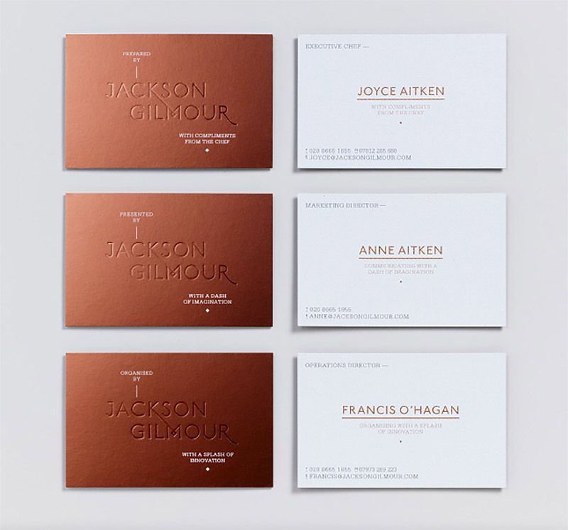 Jackson Gilmour Identity by Magpie Studio