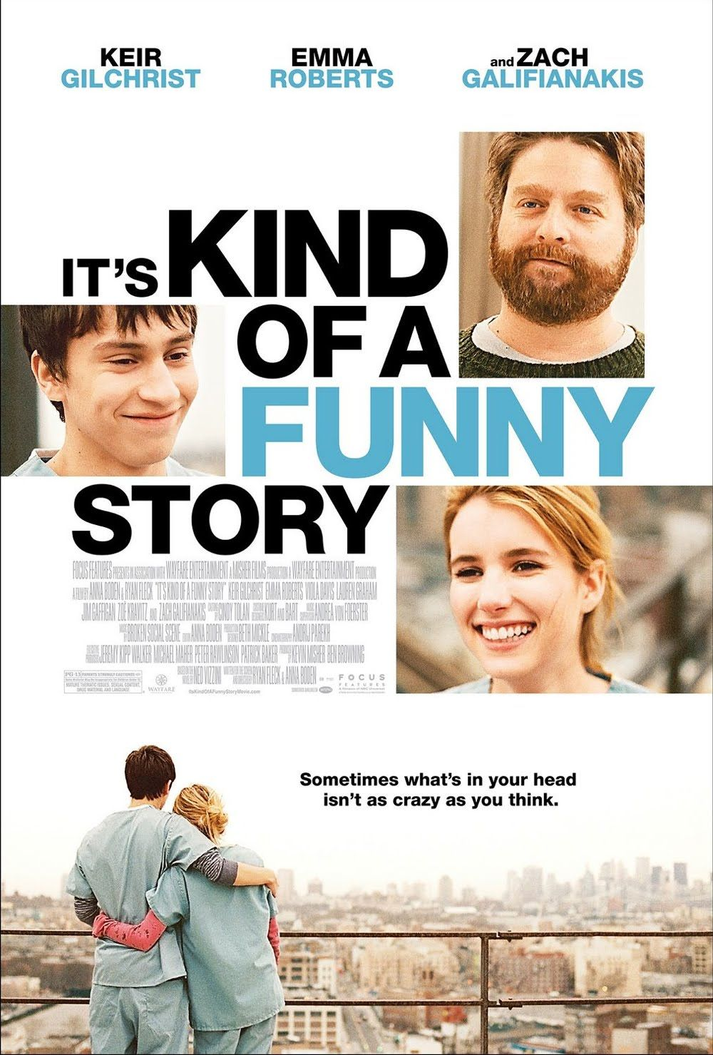 It's Kind of a Funny Story(2010) -Keir Gilchrist, Zach Galifianakis, Emma Roberts