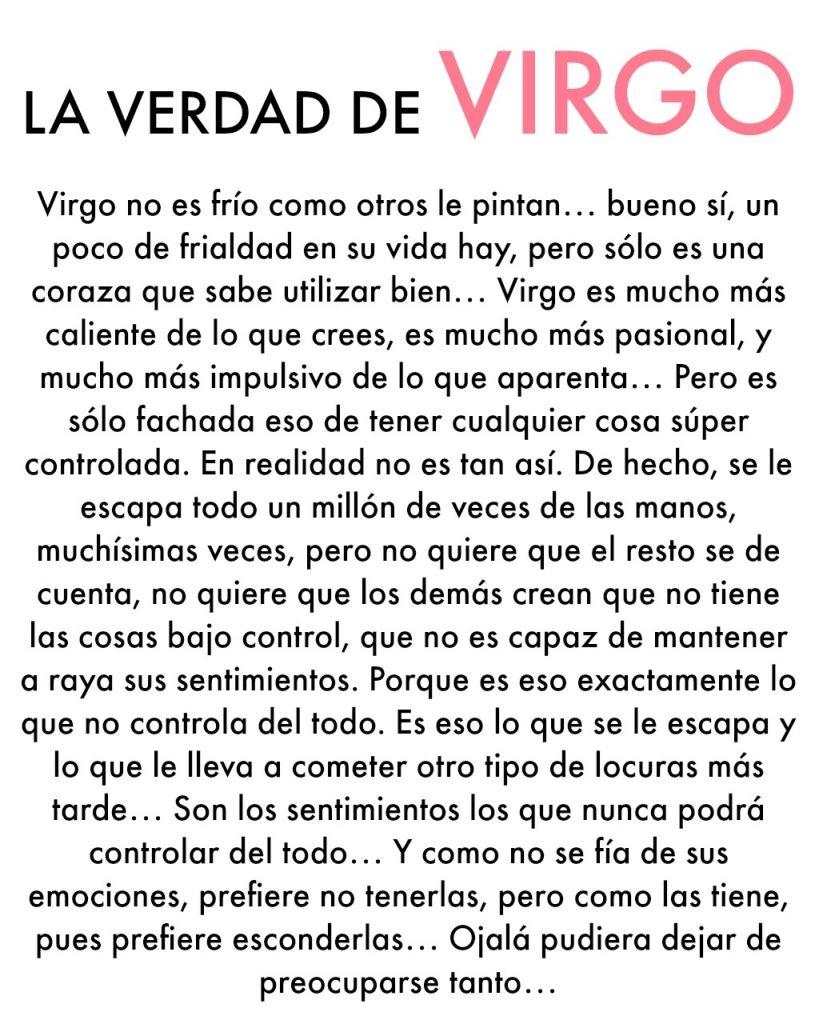 La Verdad De Virgo Citas De Virgo Virgo Horoscopo Virgo