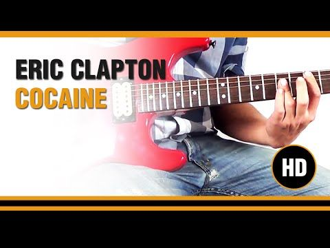 How To Play Cocaine From Eric Clapton Electric Guitar Guitar