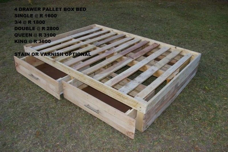 Pallet Furniture Storage Bed Bases Headboards Tables Couches Bedside Tables And More Durbanville Diy Pallet Couch Pallet Furniture Wood Pallet Recycling