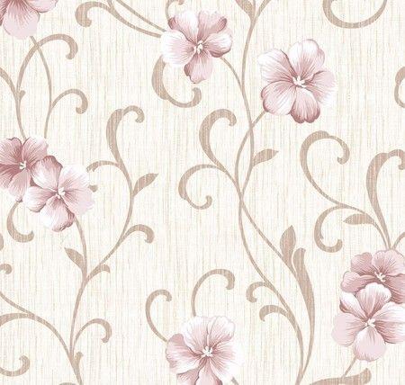 Papel de Parede - Floral  Azaléia Suave