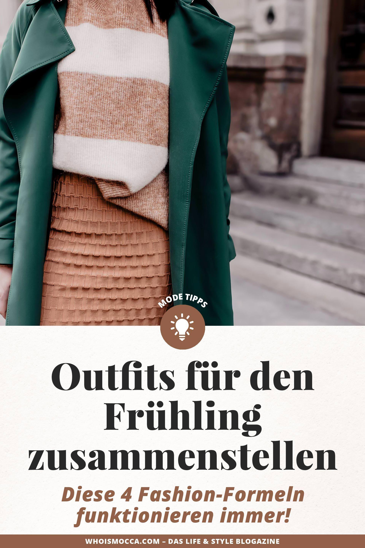 outfits für den frühling: diese 4 fashion-formeln