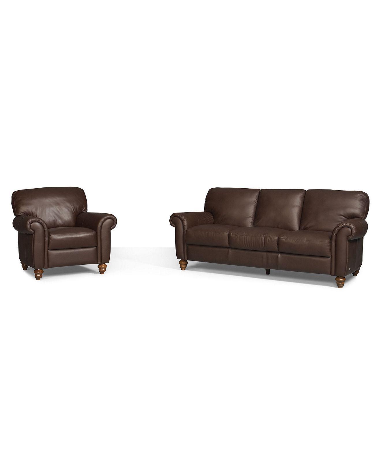 Fine Umbria 2 Piece Leather Sofa Set Sofa And Chair Sofas Theyellowbook Wood Chair Design Ideas Theyellowbookinfo