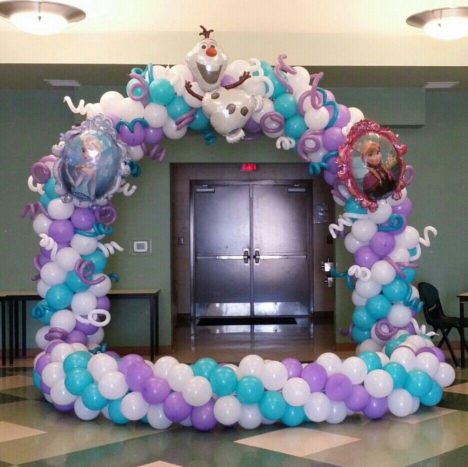 Frozen balloons pinterest birthdays frozen for Frozen balloon ideas