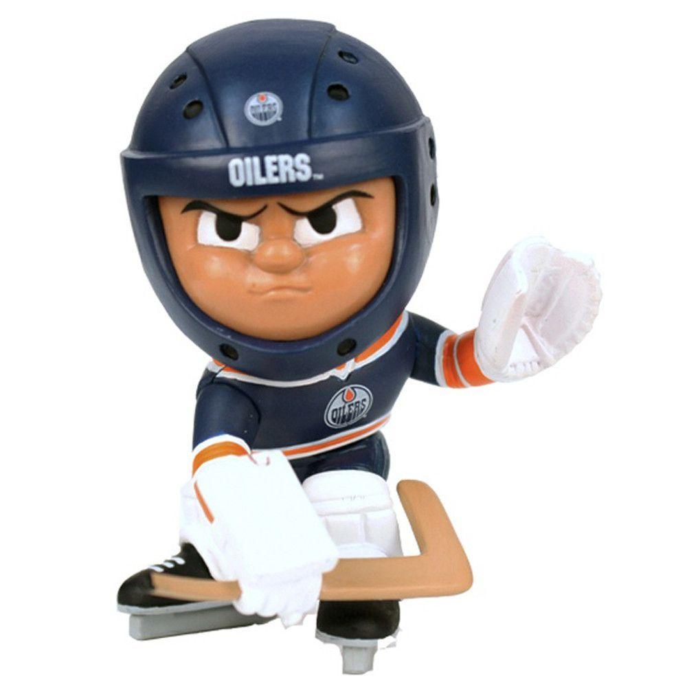 Edmonton Oilers NHL Lil Teammates Vinyl Goalie Sports