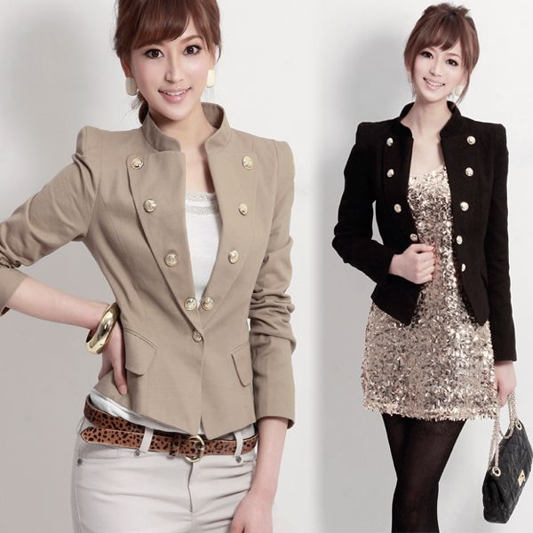 Ladies dress jacket styles