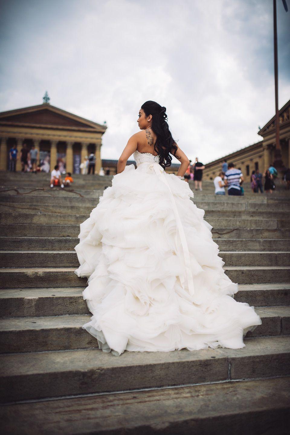 Lazaro 3213, $1,600 Size: 4   Used Wedding Dresses   Used wedding ...