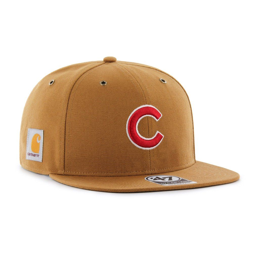 on sale 25060 ccaa8 CHICAGO CUBS CARHARTT X  47 CAPTAIN    47 – Sports lifestyle brand   Licensed  NFL, MLB, NBA, NHL, MLS, USSF   over 900 colleges. Hats and apparel.
