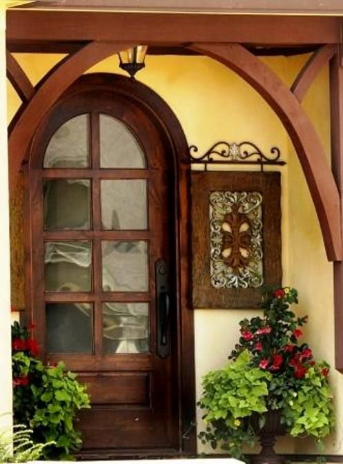 Tuscan Style Door Entry Doors Decorating Front