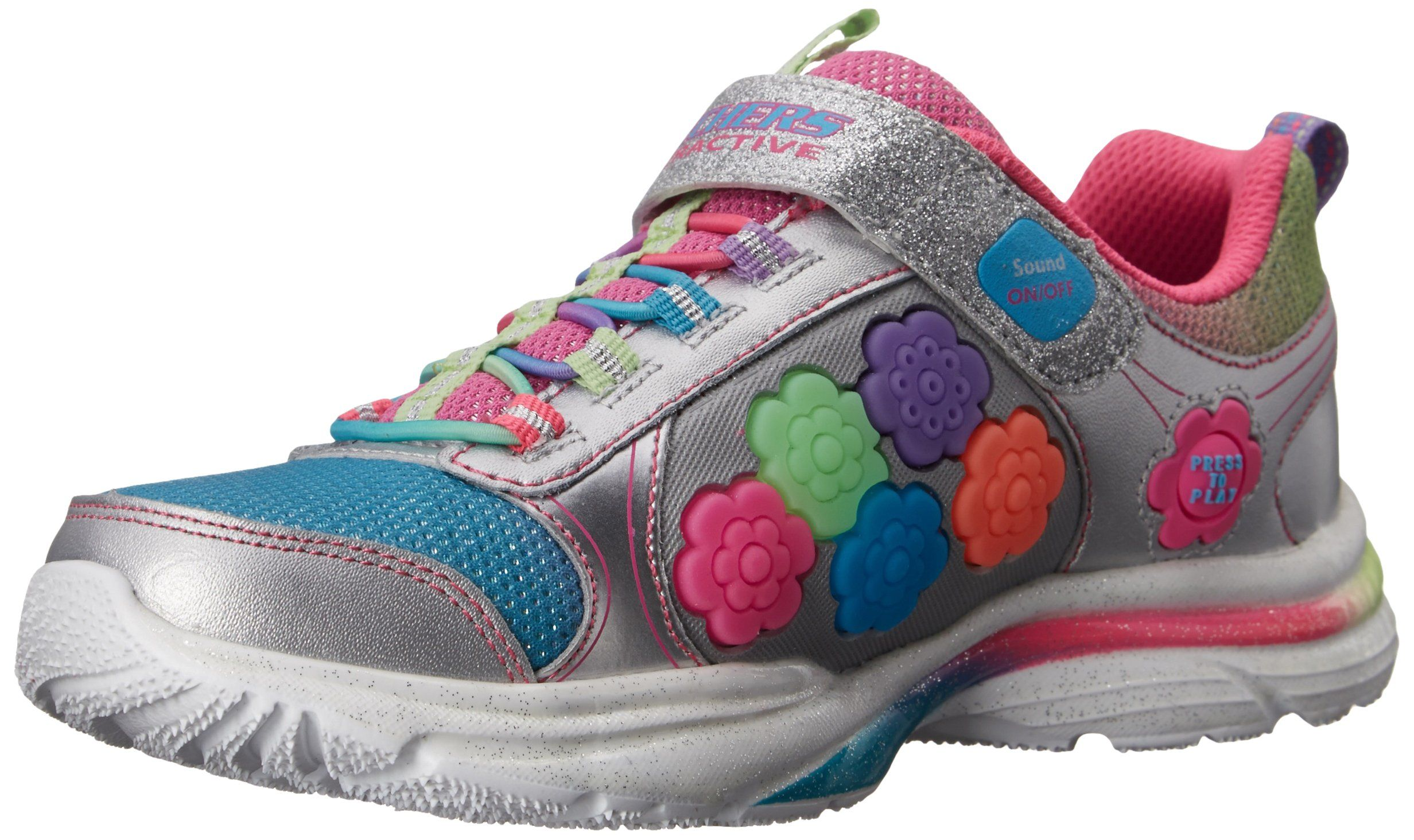 Skechers Kids 10900L Gamekicks Interactive Game and Light-Up Sneaker  (Little Kid/Big