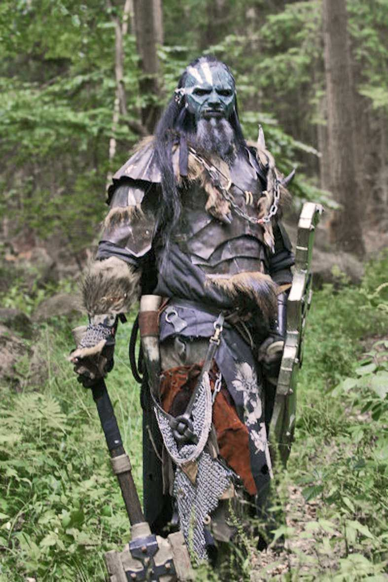 Orc Lotr Costume Our line of latex LARP...