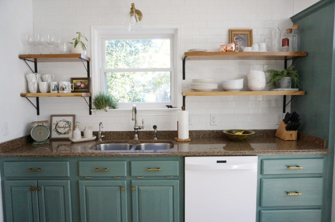 All About Our Open Shelves Kitchen installation, Open