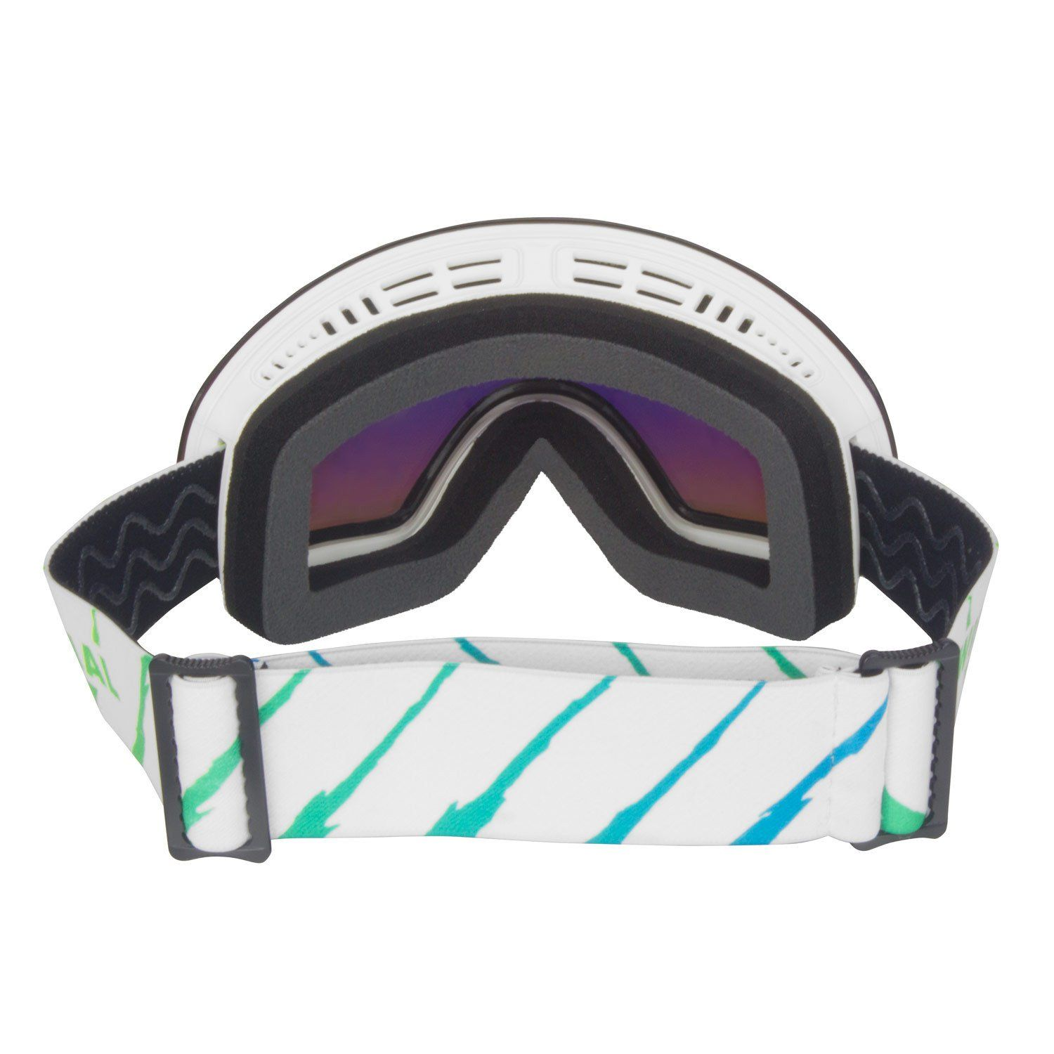 Frameless Skin and Snowboard Googles with Interchangeable