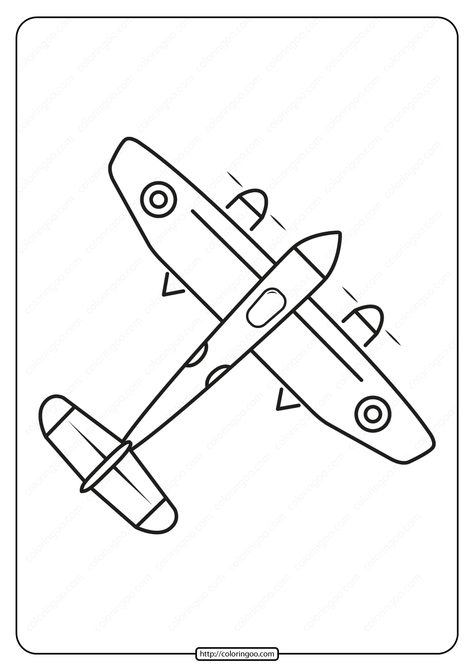 Free Printable Airplane Coloring Page In 2020 Coloring Pages Airplane Coloring Pages Free Printable Coloring
