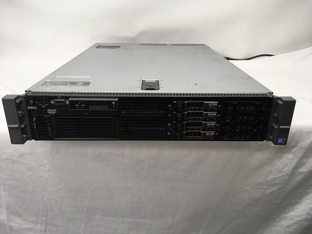Dell PowerEdge R710 Server 2x Intel Xeon X5660 2 80GHz 72GB RAM