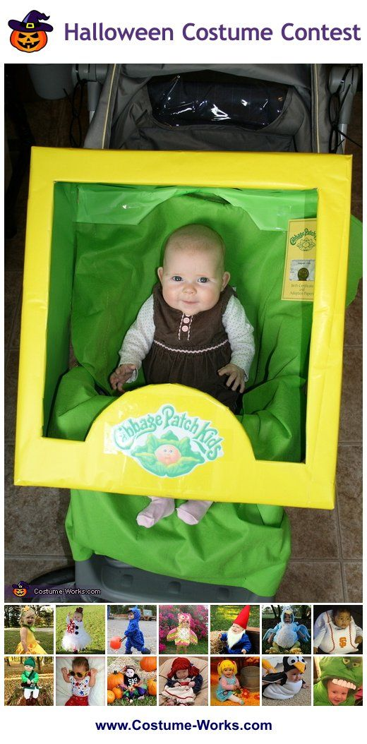 Homemade costumes for babies pinterest cabbage patch babies diy cabbage patch baby stroller tons of diy costume ideas for babies solutioingenieria Image collections