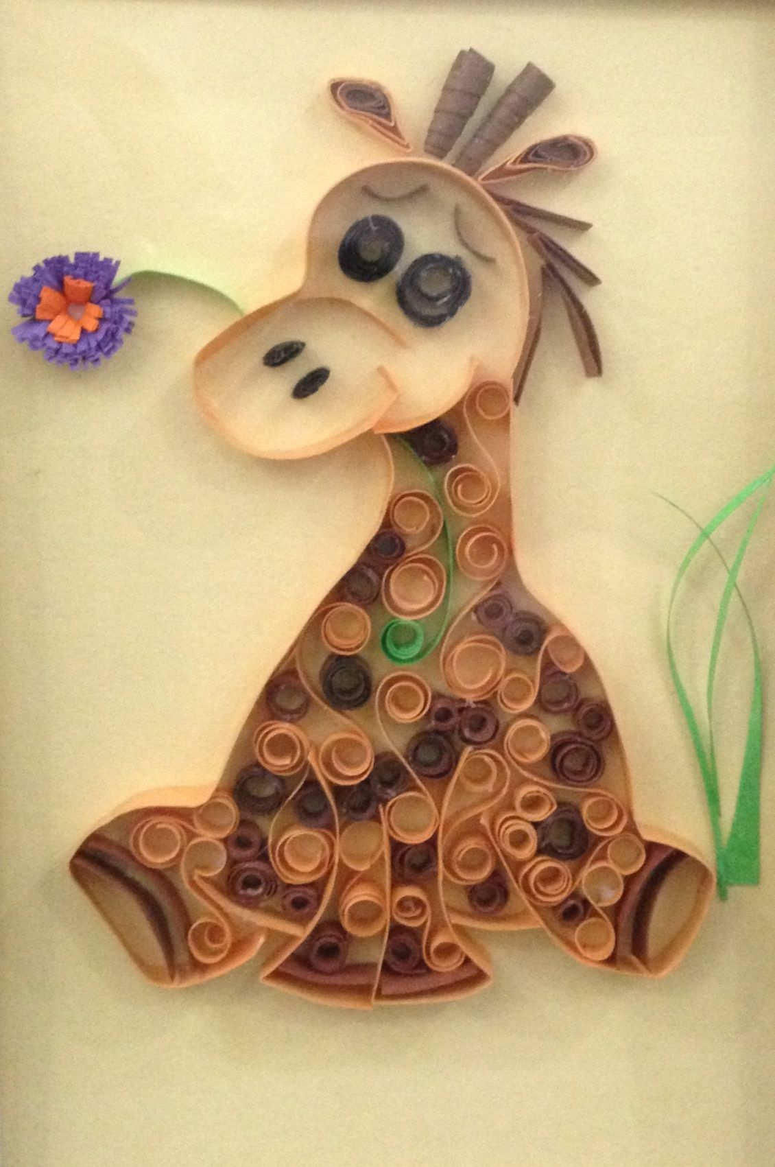 Quilling: Baby giraffe | Crafts-Paper crafts and quilling ... - photo#43