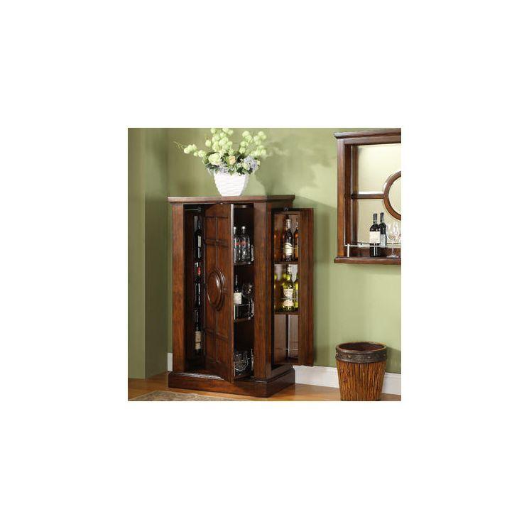 Dublin Old World Armoire Bar Cabinet