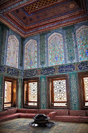 Turkey Istanbul Topkapi Palace Harem Apartments Of Crown