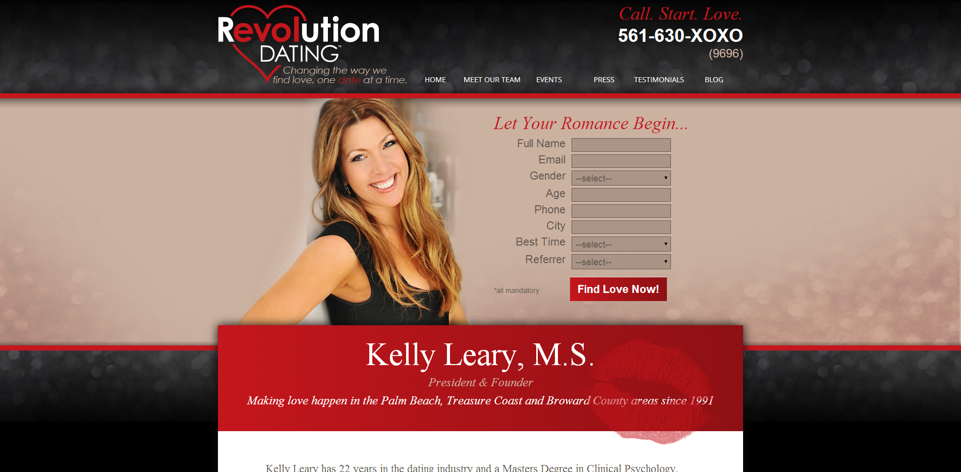 dating website matchmaking