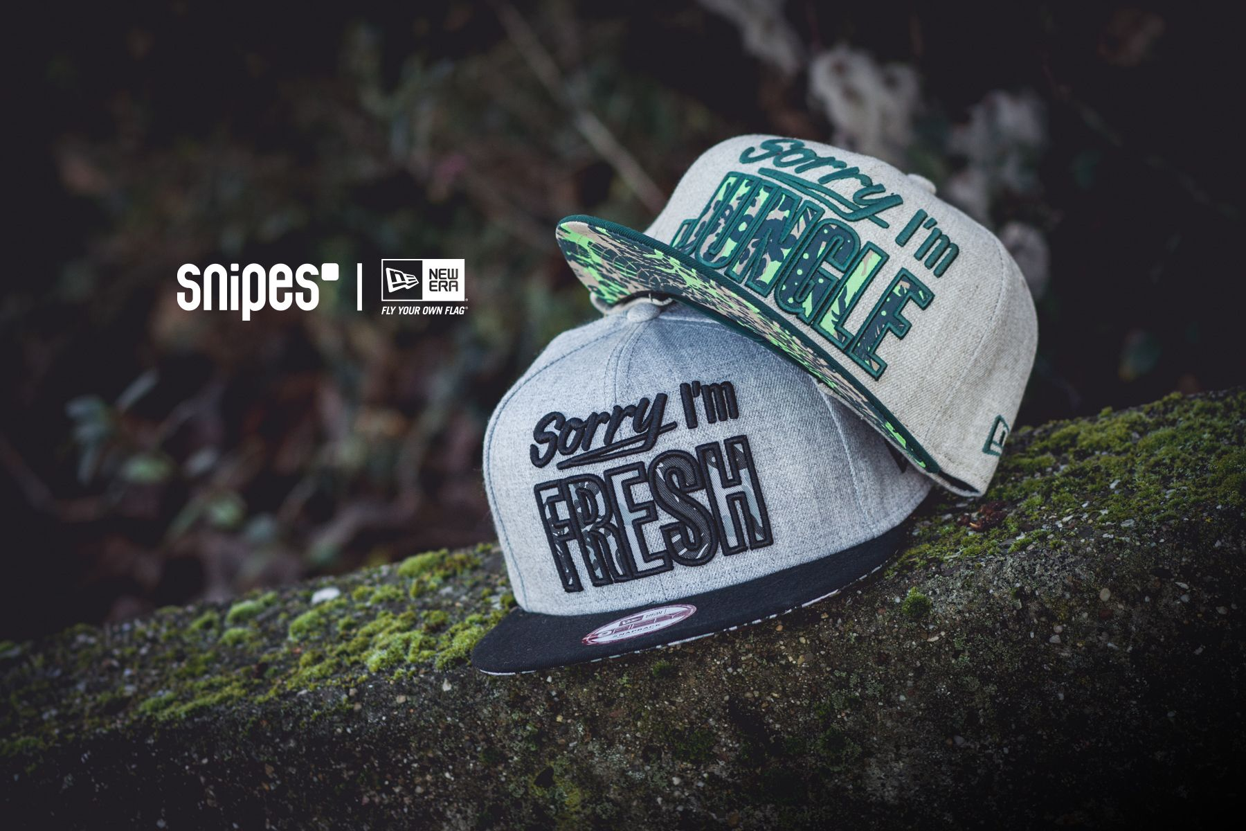 "New Era ""Sorry I'm..."" #newera #headwear #caps"