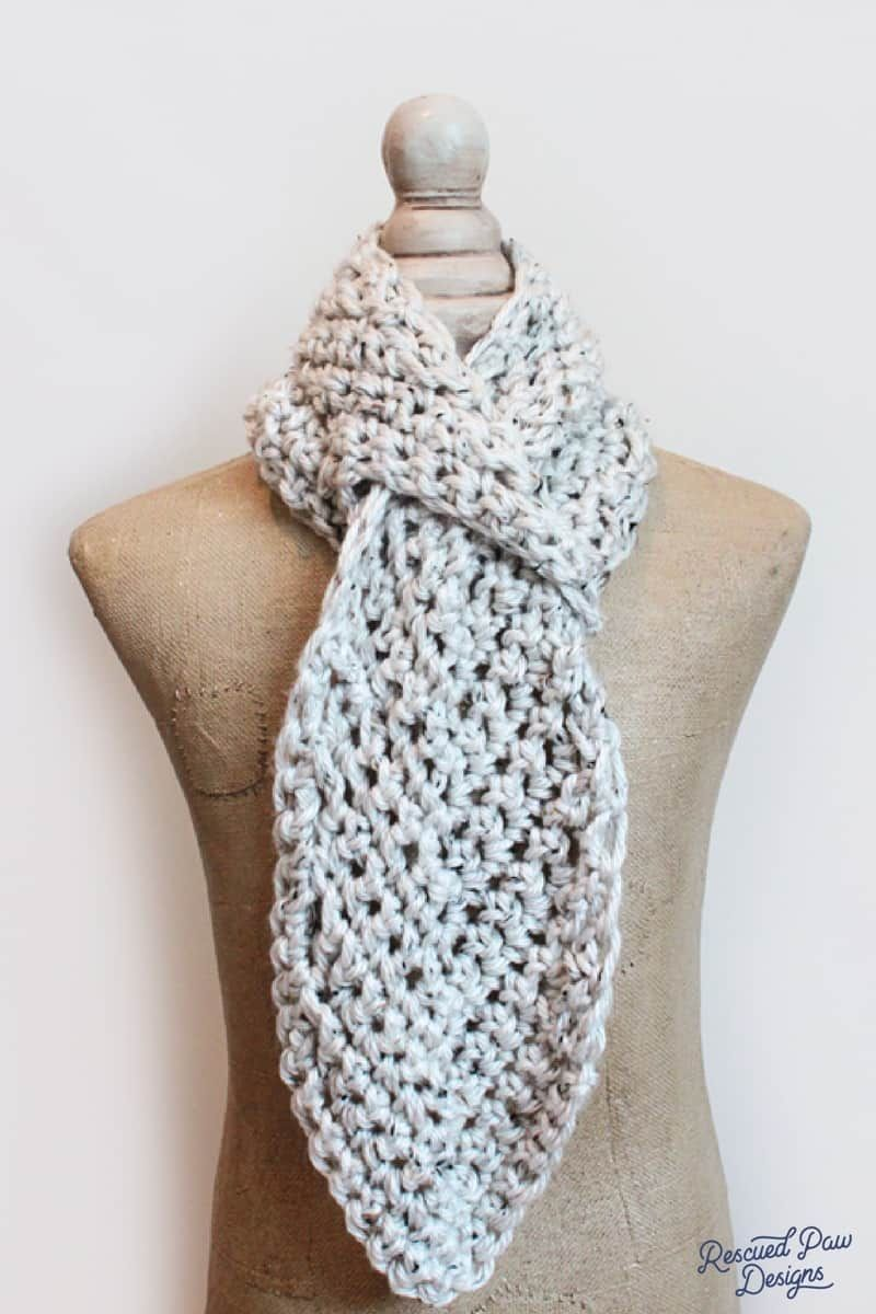 Crochet Chevron Scarf Pattern | Sweter, Asas y Tejido