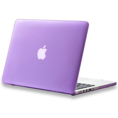 """PURPLE Rubberized Hard Case for NEW Macbook Pro 15/"""" A1398 with Retina display"""