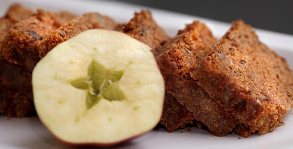 Krydderkake med eplemos