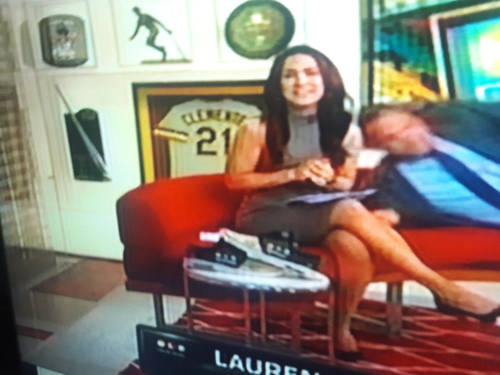 Sexy Lauren Shehadi In Grey Dress Lauren Shehadi Gray Dress Lisa Artwork