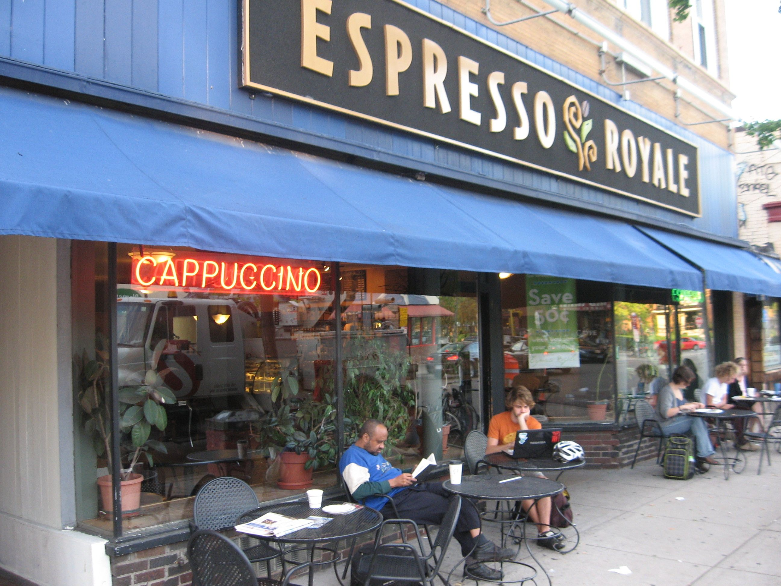 espresso royale cafe in dinkytown minneapolis for about two espresso royale cafe in dinkytown minneapolis for about two years in college at the