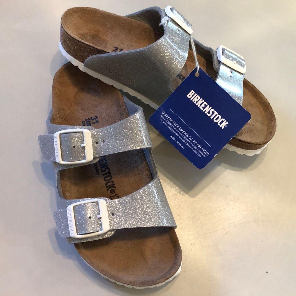 Birkenstock Arizona Kids Magic Galaxy Silver Birkenstock Sandals Style Birkenstock Birkenstock Shoes