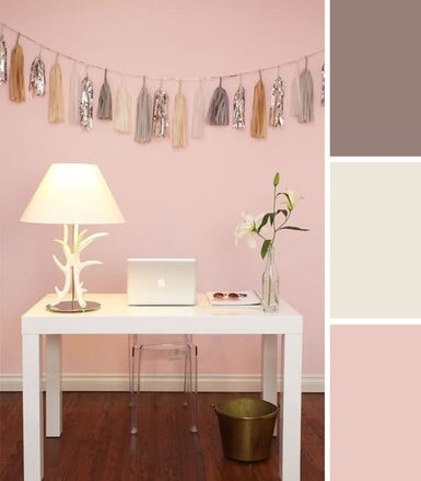 About.com Interior Decorating -10 Colorful Workspace Palettes We Love by AphroChic