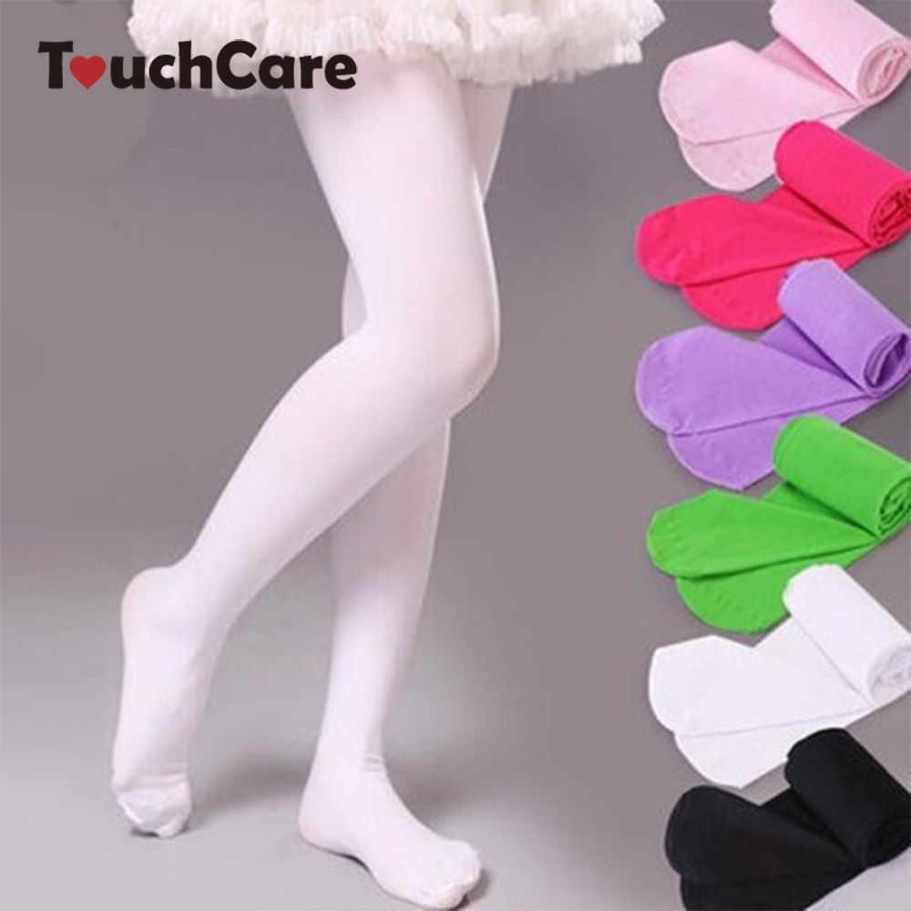 Girls Stocking Party Ballet Dance Clothes Stockings Cotton Tights Pantyhose