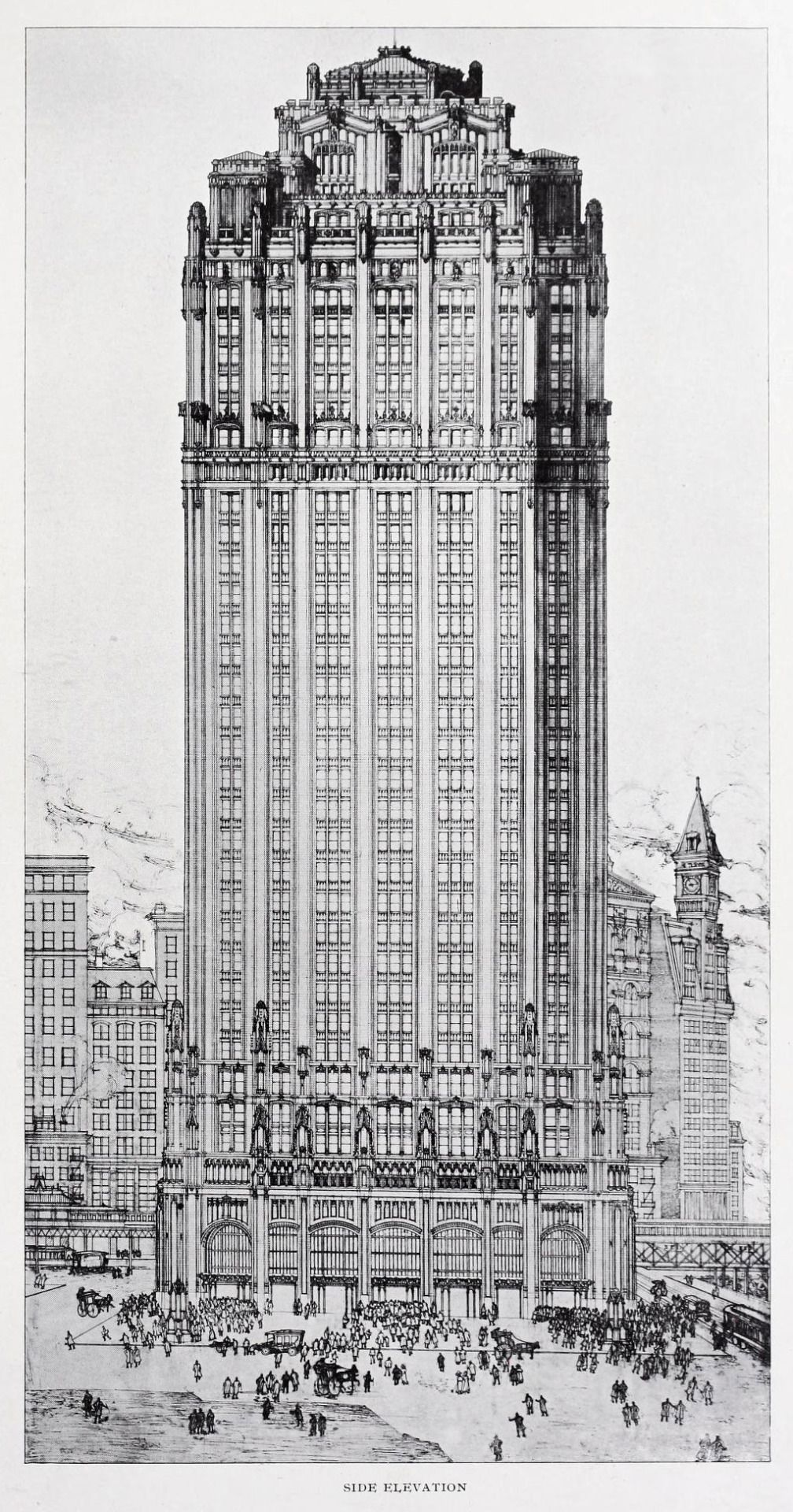 Competition design for the municipal building new york