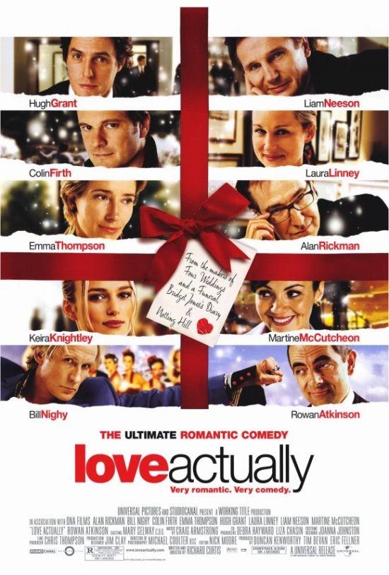 Love Actually Movie Poster Print 27 X 40 Item Movcf3201