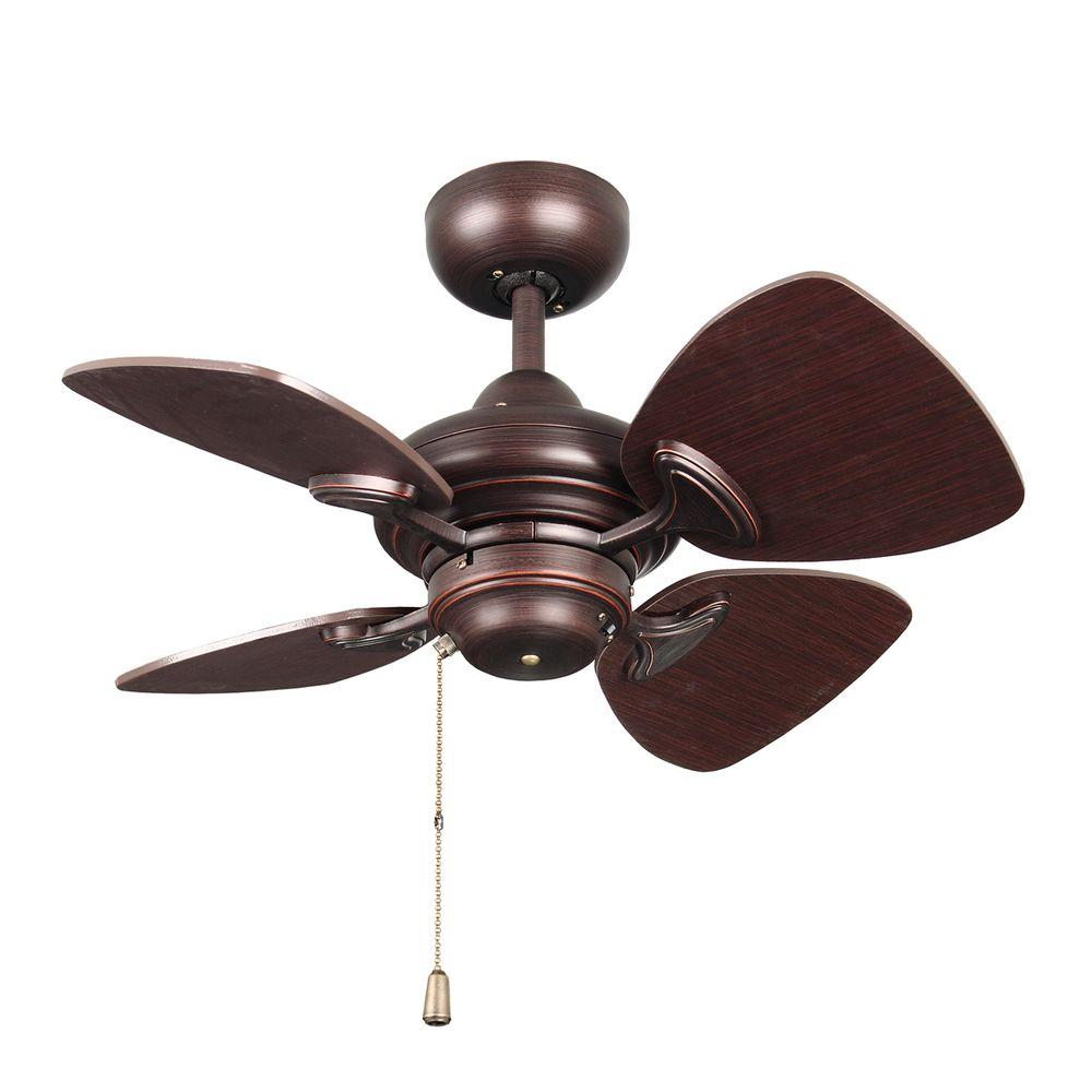 Designers Choice Collection Aires 24 In Copper Bronze Ceiling Fan Ac16324 Cbrz The Home Depot Bronze Ceiling Fan Ceiling Fan Copper Ceiling Fan