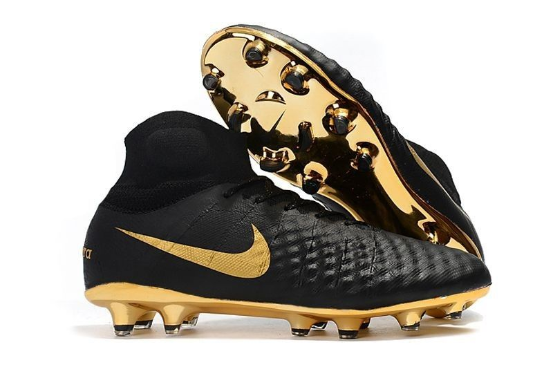 29449bdb2ff2 Good Nike Magista Obra II Elite DF FG Sock Soccer Cleats - Black/Gold