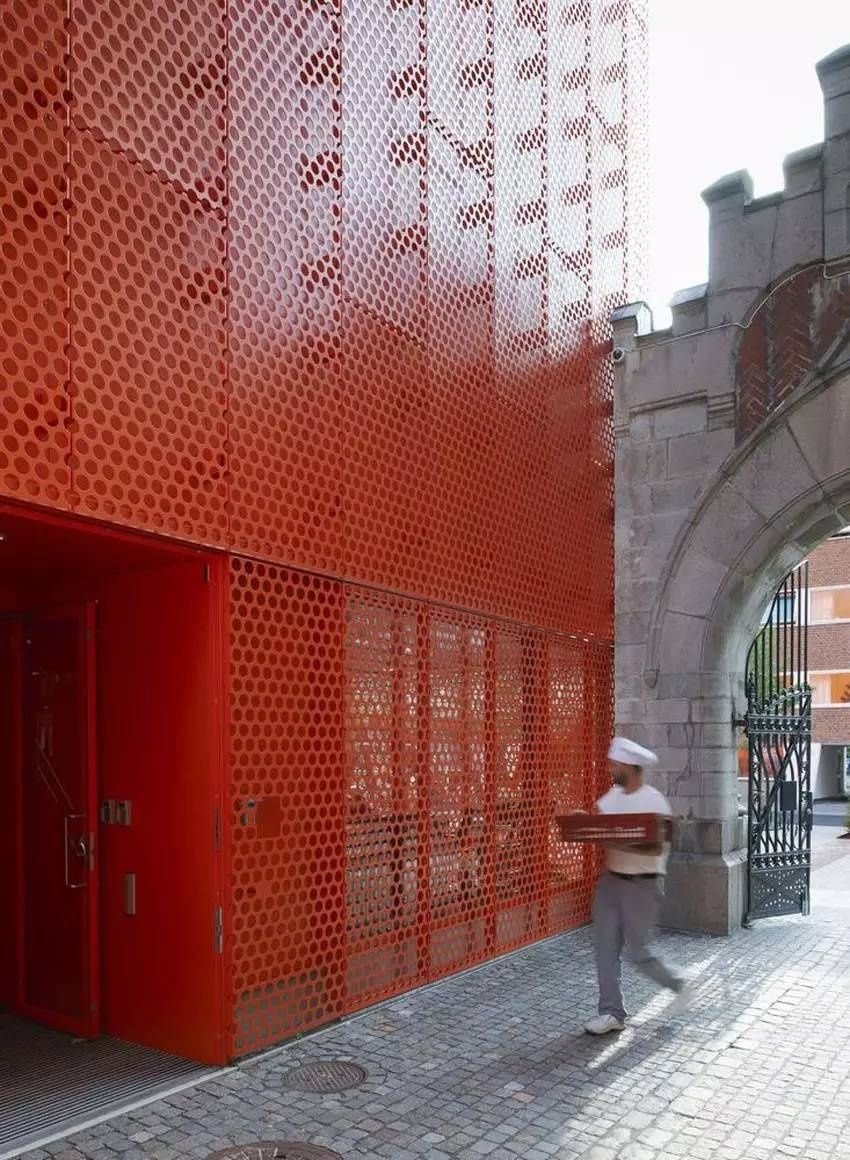 Moderna Museet Malm 246 Perforated Plate Metal Facade