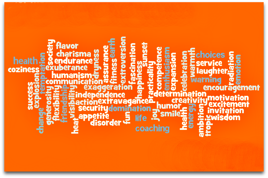 Color Meanings Symbolism Chart Orange Type Pinterest