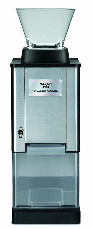 waring pro ic70 professional stainless steel large capacity ice rh pinterest es