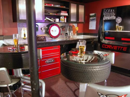 71 Home Bar Ideas to Make Your Space Awesome Garage bar Home