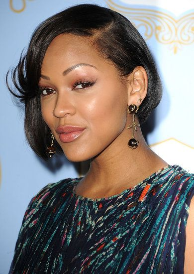 Astonishing 1000 Images About Meagan Good Short Hairstyles On Pinterest Short Hairstyles For Black Women Fulllsitofus