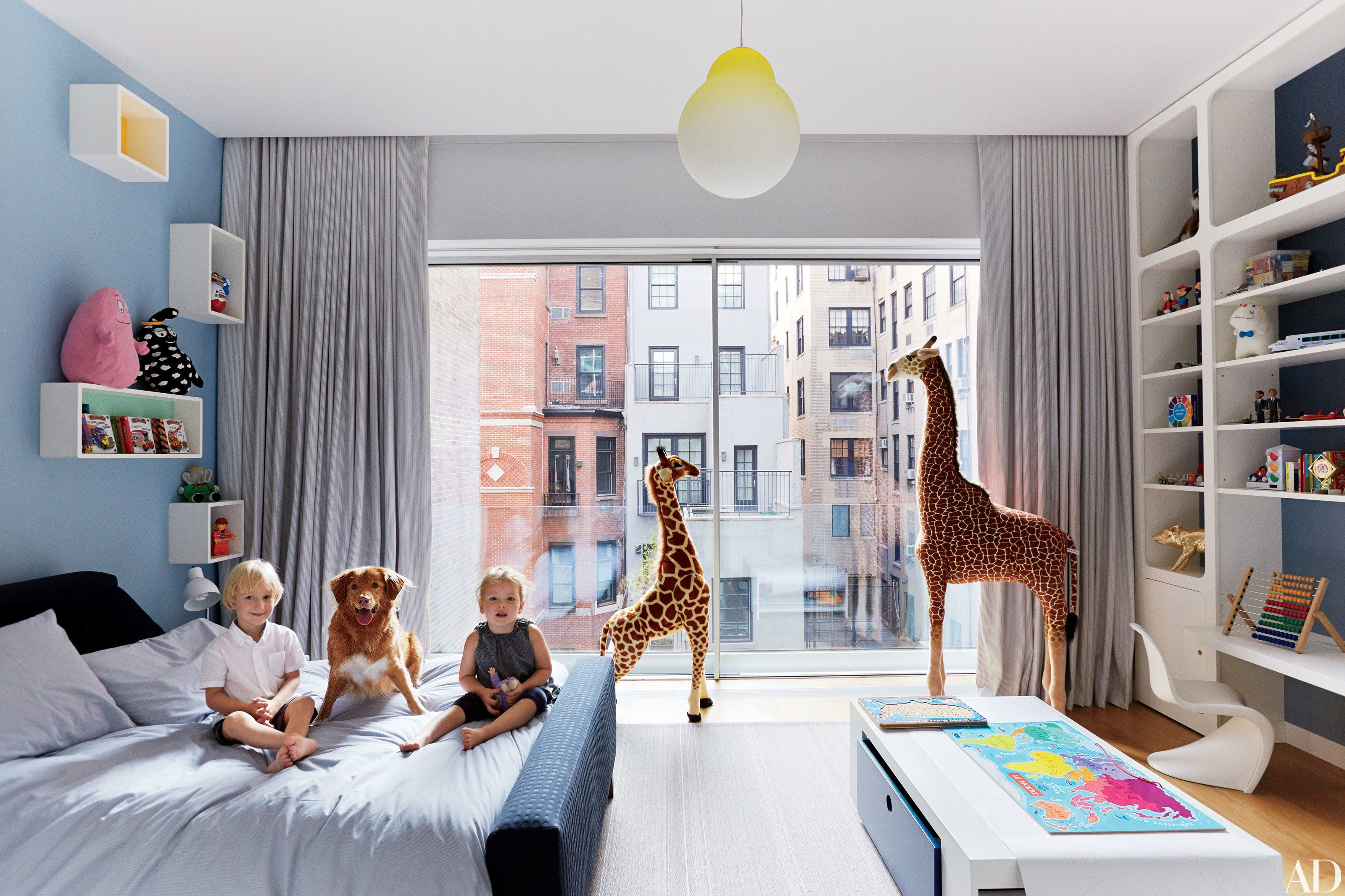 55 Stylish Children\'s Bedrooms and Nurseries   Architectural ...