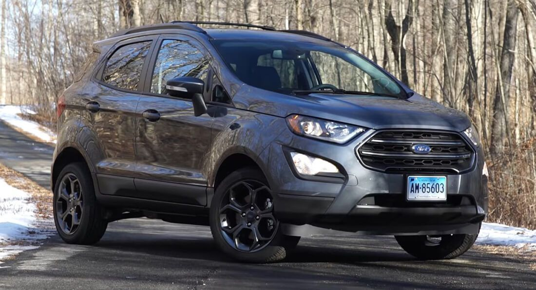 Consumer Reports Pays Edge Money For A Ford Ecosport Declares It A Big Let Down Carscoops Ford Ecosport Ford Small Suv Ford Suv