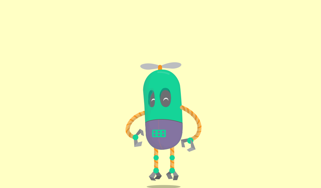 Robot animated Svg animation Css Codepen | Web/UI Design | Svg