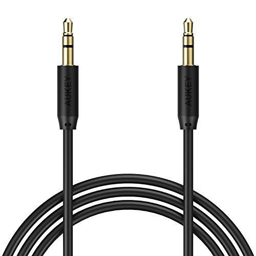 4 Ft. Aux, Stereo Auxiliary Cable, 3.5mm Audio Cable AUKEY